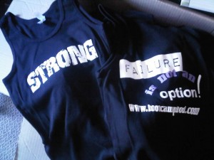 Strength Powered Fitness Contest Give-Away T-shirts
