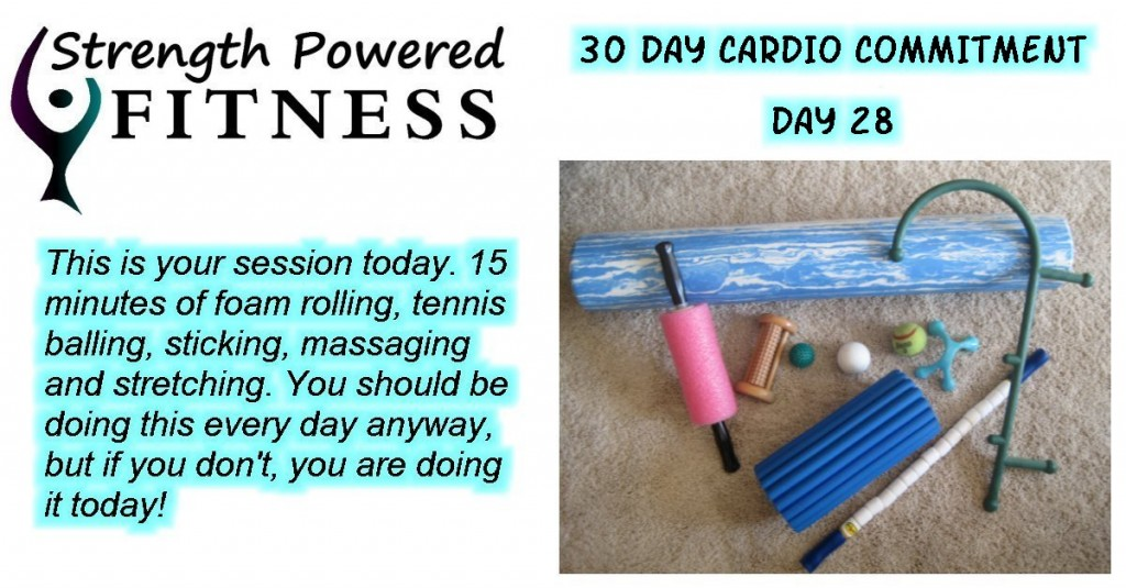 30 Day Cardio Commitment day 28